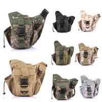 best running waist pack - Free Epacket Pocket Tactical Waist Pack Military Fanny Packs Waterproof Hip Belt Bag For Outdoor Bumbag Universal Best Gift E597E
