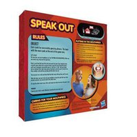 Wholesale New Funny toys Speak Out Game KTV party newest best selling toy Hot Games by