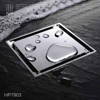 Wholesale Han Pai Brass Bathroom Sewer Filter Deodorization Water Outlet Shower Floor Drain banheiro salle de bain HP7903