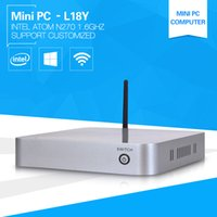 atom network - XCY The Newest Cheapest Mini Computer L y ATOM N270 Network Mini PC ghz Mini office pc thin client support win7 linux