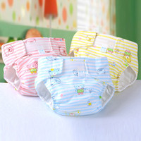 Wholesale 2016 New Baby Cloth Diaper Cotton Baby Nappy Waterproof Leakproof High End Child Diapers
