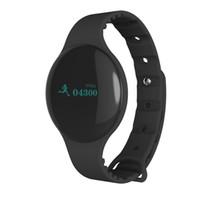 Wholesale H8 Smart Watch Smart Wrist Smartband Bluetooth Sleep Tracker SMS Call Reminder Wristband Updated FITBIT