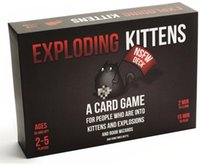 Wholesale 2016 Playing Card Games Exploding Kittens NSFW Version Black Box A Card Game About Kittens And Explosions And Sometimes Goats