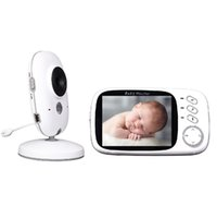 Wholesale Radio Babysitter inch IR Night vision Temperature monitor lullabies Multi language baby intercom Pan Tilt radio babysitter