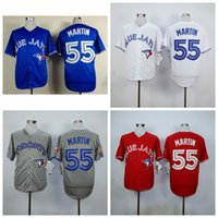 athletic basketball jerseys - Cheap Toronto Russell Martin Baseball Jerseys Blue Jays Cool Base Authentic Mens Baseball Wears Newest Outdoor Athletic MLB Shirts