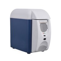 Wholesale 2016 New Arrival Portable L Car Refrigerator Cooling and Heating Fridge Mini Styling Auto Home Freezer DC V