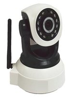Wholesale 720P PTZ Mini Robot Ball Wifi IP Camera With Built in TF Card Slot cctv Security Monitoring Surveillance