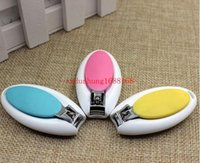 Wholesale Neonatal infant anti folder meat safe egg shaped nail clippers