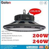 basketball warehouse - 200W UFO LED high bay light for indoor indoor basketball court lighting Lm W years warranty Fedex basketball court light