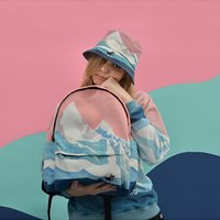 b backpack - harajuku b ag korean b ackpacks new retro embroidered b ackpack men couple landscape backpack