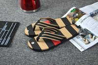 Wholesale New Summer Men Sandals High quality Soft Beach Flip Flops EVA Massage Slippers For Men s sandals Size