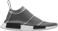Wholesale NMD City Sock Chukka PK R1 Primeknit Monochrome Running Shoes shipping with box Size