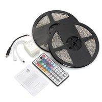 Wholesale 2x5M M SMD LED RGB Light Lamp Strip Waterproof Keys Remote Control