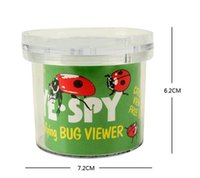 Wholesale Magnifying Bug Viewer Kid Toy Gift Promotion Locket Box Magnifier Bug Magnifying Loupe Kid Toy Gift Watch Repair Tool HHA955
