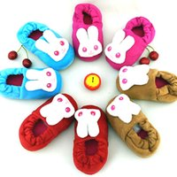 Wholesale 2 Years kids thermal winter shoes warm Children warm antiskid slippers boys girls winter indoor floor shoes