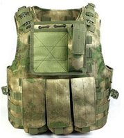 Wholesale A TACS FG Tactical FSBE AAV Assault Vest Kryptek SWAT Black Special Forces Airsoft
