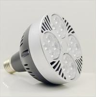 Wholesale High Power PAR30 Spotlight W W Led Bulb Light PAR Spot Light LED Bulbs Lamp Replace Hologen Bulb LED Lighting AC85 V