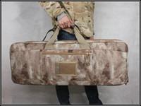 aeg airsoft rifles - NEW High density Nylon SWAT Dual Tactical large capacity Carrying Case bag for Rifle Airsoft AEG Gun hunting Tactical quot Padded
