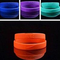 basketball charms - wristbands black bule sport basketball silica gel hand circle the lakers KOBE signature hand circle bracelet lz10096
