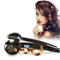 Wholesale Auto Hair Curler With LCD Display Hair Care Styling Tools Ceramic Wave Hair Roller Magic Curling Iron Hair Styler Curling Irons