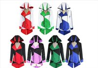 assassin dress - Cosplay Dress Anime Cosplay Halloween Costumes Assassins Creed Costume Hoodie Coat Jacket Anime Clothing For Amazing Cosplayers