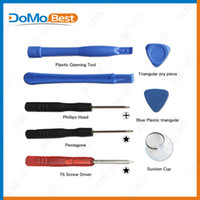 Wholesale 8 in Opening Pry Tools Screwdriver Repair Kit Set Screwdriver For iPhone S s S G For iPod For Samsung S4 S3