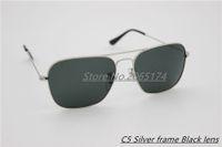 aviation names - 2016 G15 glass lens men Sunglasses brand name aviation classic feminin women metal Sun Glasses vintage oculos de sol with box