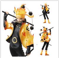 Wholesale Japan Anime Uzumaki Naruto the Sage of the Six Paths PVC Figure cm In Color Box