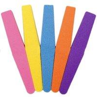 Wholesale 2016 Corlorfu Nail Art Tips Buffer Sandpaper Sanding Block Buffing Files
