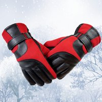 Wholesale New Arrival Winter Men Thickened Warm Outdoor Sports Touch Screen Gloves Finger Gym Gloves