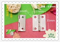 Wholesale 20pcs mm mm stainless steel hinge cabinet door hinge thickening luggage hardware accessories