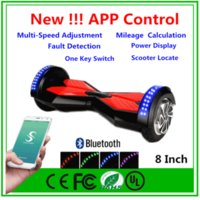 app display - New Super Power APP control quot Smart Balance Wheel Scooter With Bluetooth Self Balancing Scooter Power Display Speed adjustment Hoverboard