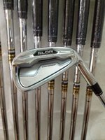 Wholesale Golf clubs SLDR Irons PAS With Dynamic Gold Steel R300 shaft SLDR Golf Irons Right hand