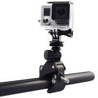 Wholesale Go Pro Accessories Bike Bicycle Handlebar Handle Bar Camera Mount Tripod Adapter for Gopro Hero Xiaomi Yi SJCAM