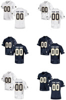 Wholesale Men s Women Youth Kids Notre Dame Fighting Irish Personalized Customized College Cheap jersey White Navy Blue Top Quality Drop Shipping