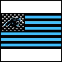 Wholesale Top Quality Panthers Flag Stars and Stripes Flag ft x ft Banner D Polyester Flag metal Grommets Factory
