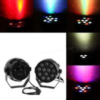 Wholesale DMX RGB W LED Stage Light Lighting Strobe Party Disco DJ Show