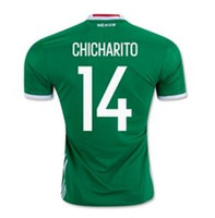 Women mexico - Customized AAA Thai Quality Mexico CHICHARITO mens new Soccer Jerseys Football Jerseys Jersey Tops men a guardado Soccer Jerseys