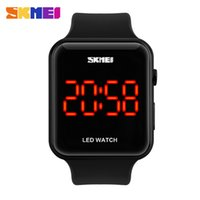 Wholesale Hot Waterproof China Sport Led digital wrist Watches men Fashion Style Electronics Outdoor design simple wristwatches