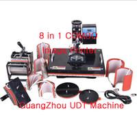 Wholesale Multicolor BY Advanced Design In Combo Heat Press Machine Plate Mug Cap TShirt press transfer machine Sublimation machine