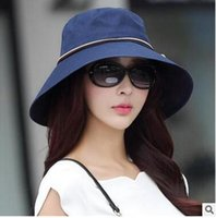 beach stories - Shanghai story new spring and summer for women Sun hat sunscreen cap hat can be folded when han edition travel