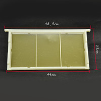 beeswax sheets - NEW MODEL beeswax foundation sheet and plastic bee frames beekeeping plastic comb foundation include the plastic bee frame