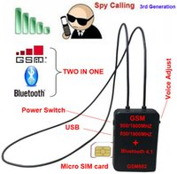 Wholesale Spy GSM bluetooth necklare earpiece GSM box neckloop spy invisible earpiece