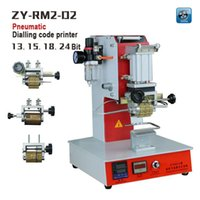 automatic stamping - ZY RM2 DP Pneumatic Dialling code printer Dial coding machine Automatic Stamping Machine leather LOGO Creasing machine