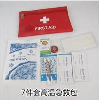 Wholesale Sunstroke supplies set summer weiwenpin high temperature welfare gift bag kit staff condolences kit staff condolences