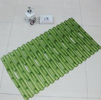 bamboo bath rugs - 2016 Top Selling High Quality x60cm Bath Mat Bathroom Bedroom Non slip Mats Imitation bamboo Rug Shower Carpet for Bathroom