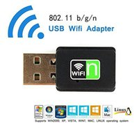 Wholesale USB WiFi Adapter GHz High Speed Wireless Dongle Network IEEE802 n b g Laptop PC LAN Card Support XP Vista Win7 Linux MAC OS X