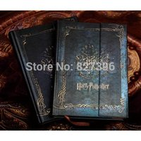 Wholesale Harry Potter Vintage Diary Planner Journal Book Agenda Notebook Notepad Collections Toy Gift Free tattoo