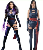 apocalypse movie - 2016 X Men Apocalypse Psylocke Betsy Braddock Cosplay Costume Sexy Lady Girl Uniform Outfits Halloween Costumes Custom Made Drop shipping