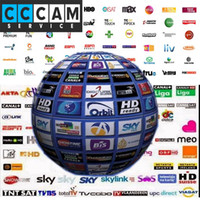 Wholesale Sale year Europe CCCam Cline server Receiver SPAIN UK French Germany cccam cline rca cable
